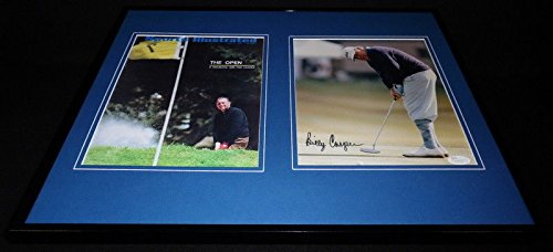Billy Casper Framed - Billy Casper Signed Framed 16x20 Photo Set JSA US Open
