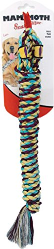 - Mammoth Pet Products 17834 18 in. Snakebiter Shorty Dog Toy44; Multicolor