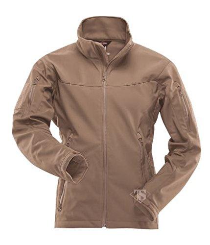 TRU-SPEC Men's 24-7 Tactical Softshell Jacket, Coyote, Large
