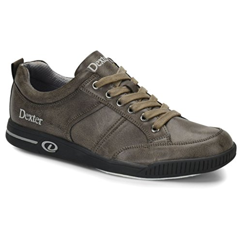 Dexter Mens Dave Bowling Shoes- Grey, 11