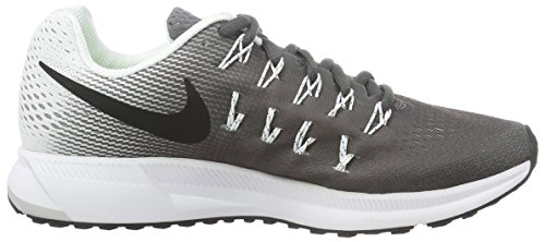 Women Air Women's Shoe Dark Zoom White 9 Grey 33 US NIKE Black Pegasus Running B7nRfnp