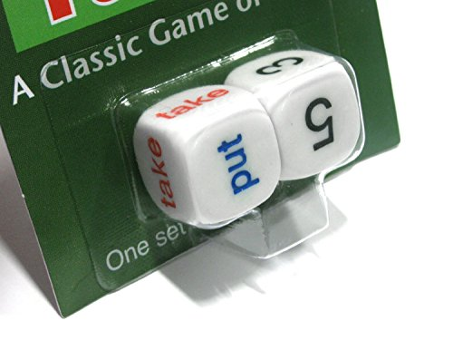Novelty Dice (Put and Take 16 mm Dice)