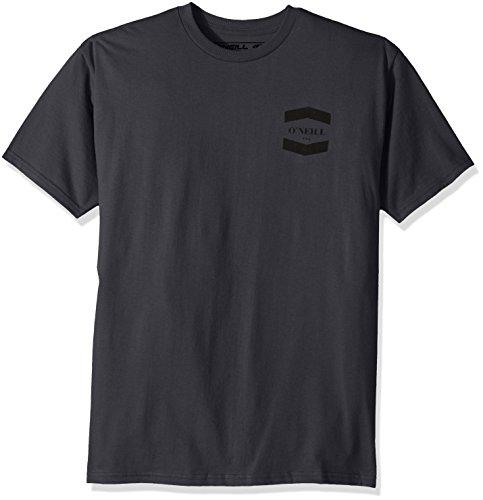 O'Neill Men's Classic Logo Hybrid Tee, Hybrid Charcoal, (Classic Logo Mens Tee)