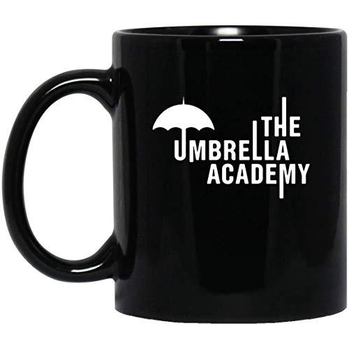 Mug Academy - The Umbrella Academy Coffee Tea Mug - Unique Gifting ideas (Mug 11oz; Black; 11oz)