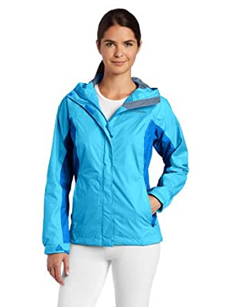 Columbia Women's Arcadia Rain Jacket, Riptide, X-Small