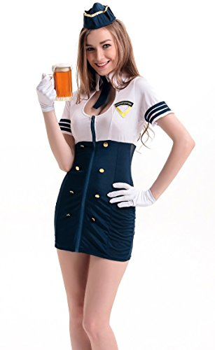 COSWE (Halloween Air Hostess Costume)
