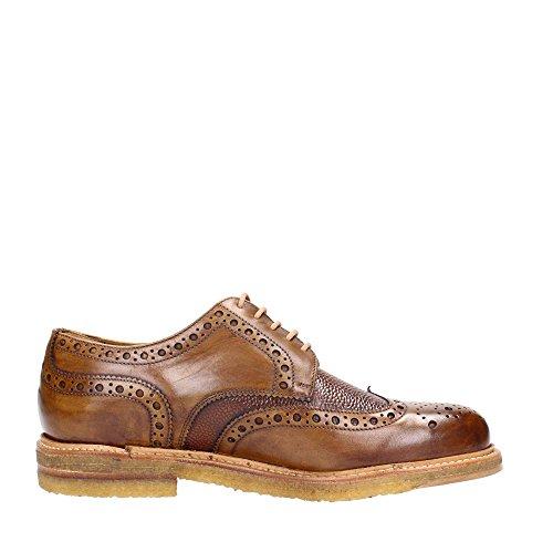 Berwick 1707 , Chaussures de ville à lacets pour homme marron Caramello - marron - Caramello, 39,5 EU EU