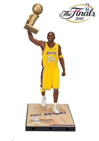 Kobe Bryant Mvp Trophy (McFarlane Toys Kobe Bryant 2010 Nba Finals Action Figure)