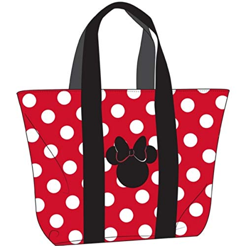 Disney Minnie Mouse Beach Tote, 17 Inch]()