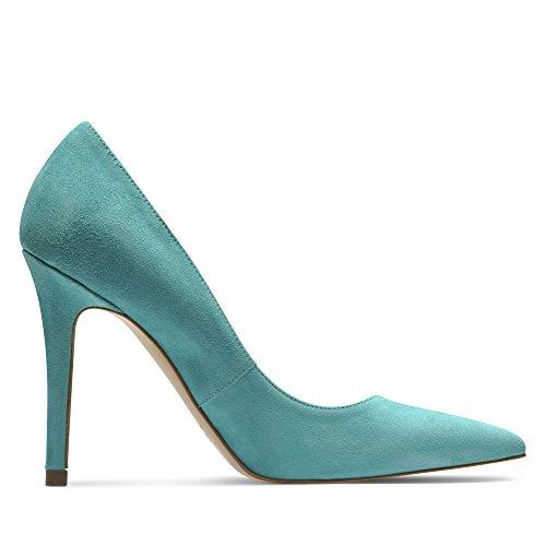 Evita Shoes - Zapatos de vestir de Piel para mujer Turquesa - Turquesa