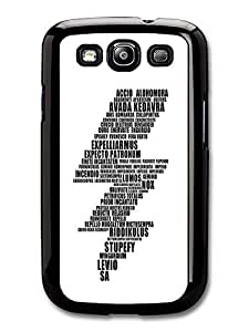 AMAF ? Accessories Harry Potter Dumbledore Hermione Spells Magic Hogwarts case for Samsung Galaxy S3
