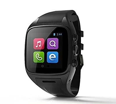 Powerlead X1 Android 4.4 3G Smart Phone watch 5.0M Camera Waterproof Built-in Wifi GPS Android Phone Preinstall Google Play Store, Muilti Language