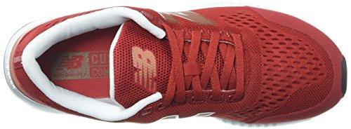 Nieuw Evenwicht Dames 005v1 Sneaker Tempo Rood / Koper Metallic