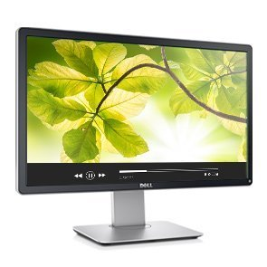 Dell P2214H Professional Series 21.5'' Widescreen LED Monitor w/Built-in USB 2.0 & Height Adjustable, Tilt, & Swivel Stand by Dell