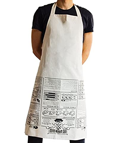 SUCK UK Apron Cooking Guide - BBQ