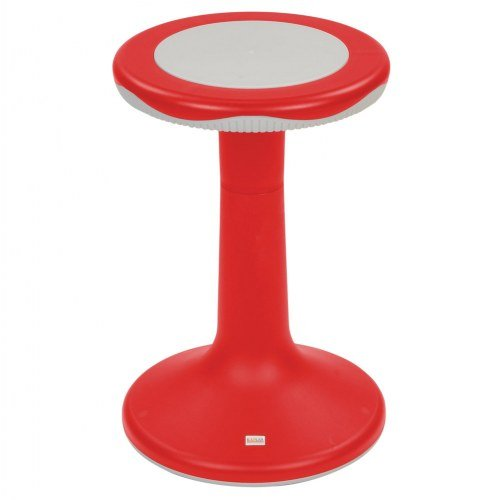 20'' K'Motion Stool - Red by Kaplan Early Learning Company