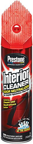 Prestone AS345-6PK Interior Cleaner with Odor Neutralizer - 18 oz, (Pack of 6)