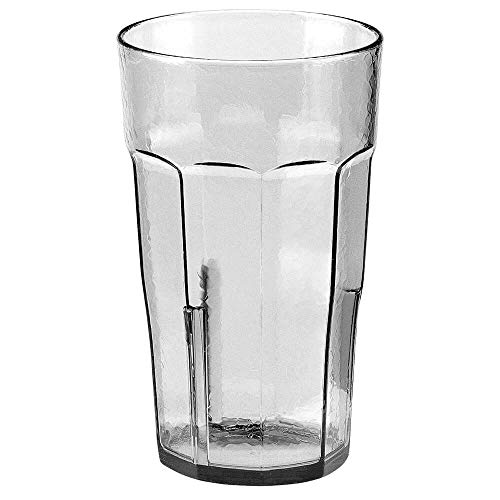 Cambro LT16152 Laguna Tumbler fluted 16 oz. clear - Case of 36
