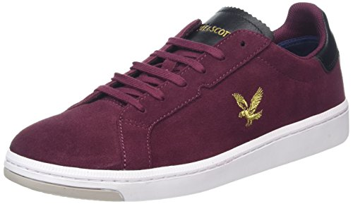 Lyle & Scott Men's Burchill Trainers Red (Claret Jug) outlet where to buy best sale new iaVFkIvmB