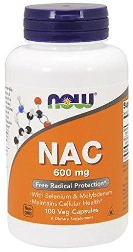 NOW NAC 600 100 Capsules