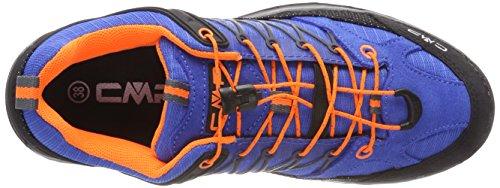orange Zapatos Senderismo grey Unisex De High Rigel Rise Cmp Fluo Azul zaffiro Adulto X4qP1Fnww