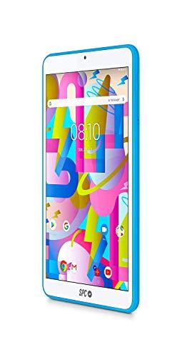SPC Lightyear Tablet Azul con Pantalla IPS de 8 Pulgadas y Memoria ...