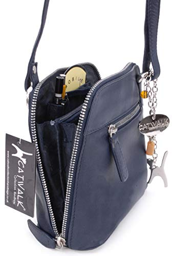 Cross Leather Catwalk Bag Catwalk Blue Lena Collection Collection Body dRxIqZw