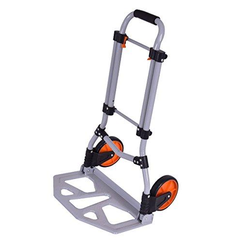 Goplus-Heavy-Duty-Folding-Hand-Truck-Hand-Cart-Rolling-Luggage-Cart-Push-Cart-Hand-Dolly-Trolley