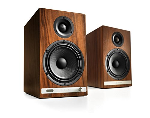 Audioengine HD6 Powered Speakers (Pair) Walnut by Audioengine