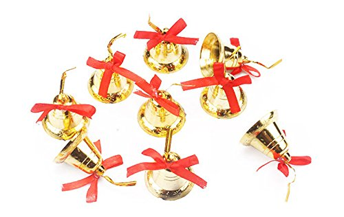 Christmas Bells Decoration Ornaments Set of 9