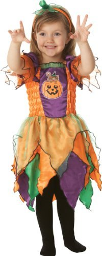 Toddlers Pumpkin Witch Costume