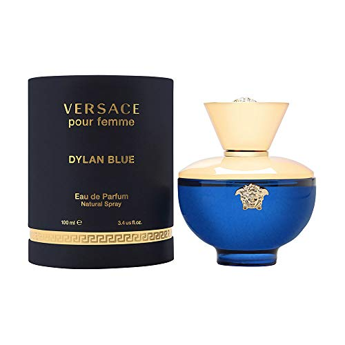 Versace Versace Dylan Blue Pour Femme 3.4 Oz Eau De Parfum Spray, 3.4 Oz (Versace Outlet-store Online)