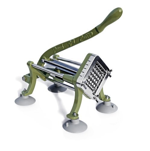 New Star Foodservice 42313 Commercial Grade French Fry Cutter with Suction Feet, ()
