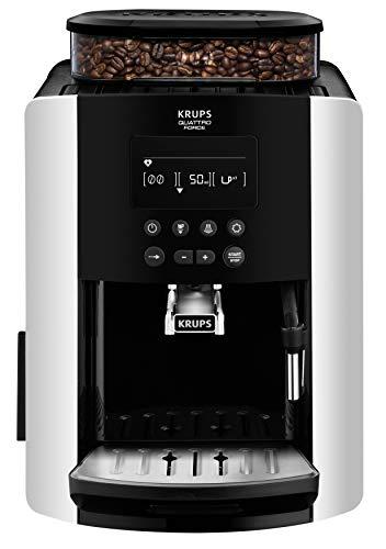 Krups EA817810 Independiente Totalmente automática Máquina espresso 1.7L 2tazas Negro, Plata – Cafetera (Independiente…