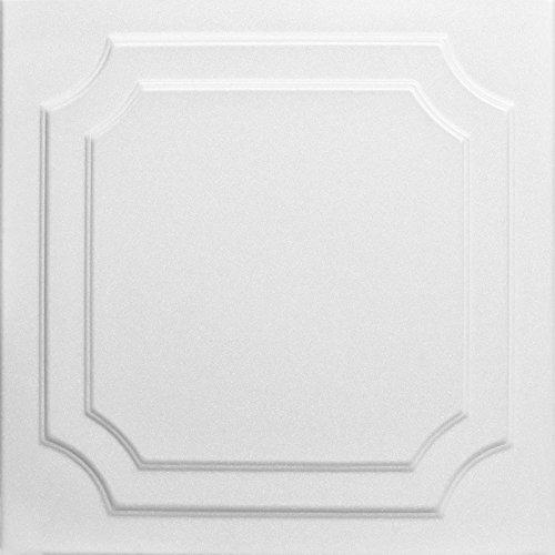 a-la-maison-ceilings-1005-the-virginian-styrofoam-ceiling-tile-package-of-8-tiles-plain-white