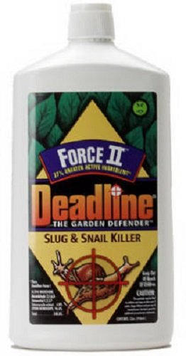 Deadline Force II 32 oz Liquid Slug & Snail Bait - Quantity 9