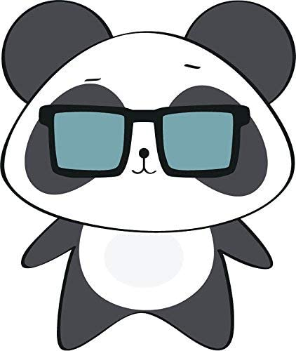 Amazon.com: Lindo oso panda Kawaii de dibujos animados Emoji ...