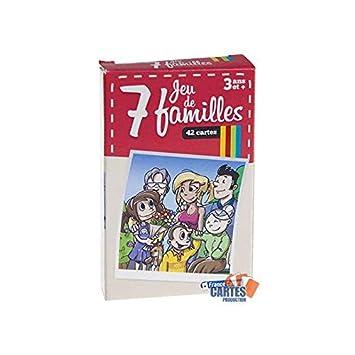 Juego de 42 cartas : 7 familias