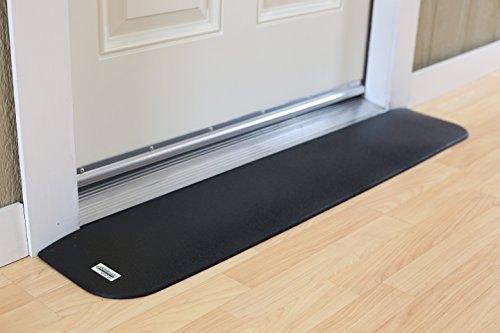 EZEdge Transition Threshold Ramp For a Door Sill, 7/8'' Rise, 7/8'' x 8'' x 41½'' by EZEdge (Image #1)