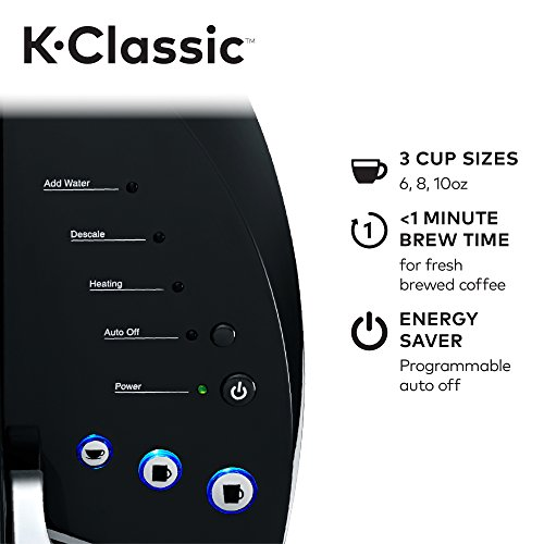 Large Product Image of Keurig K55/K-Classic Coffee Maker, K-Cup Pod, Single Serve, Programmable, Black
