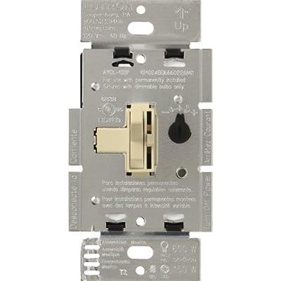 Lutron Ariadni/Toggler 150 Watt Single-Pole/3-Way Dimmable CFL/LED Dimmer