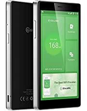 GlocalMe G4 Pro 4G LTE Mobile Hotspot, Worldwide WiFi Portable High Speed WiFi Hotspot with CA 8GB & Global 1GB Data, SIMFREE, Pocket MIFI(Black)