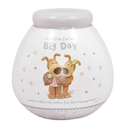 Pot Of Dreams Ceramic Money Box/ Pot BOOFLE WEDDING 67081 Break To Open
