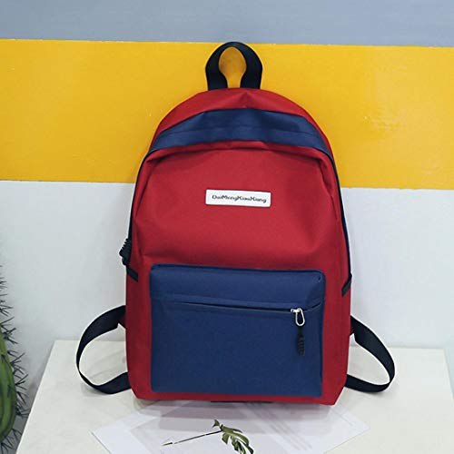 Black Girls Shoulder Handbag Bags Women Rucksack Backpacks Teenagers Casual School Handbag C Women Travel Canvas Crossbody Hunzed Bag awUAgX