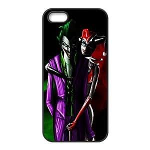 Customize Your Own Design Apple iphone5 5S Back Case Joker Harley Quinn JN5S-2137 by icecream design