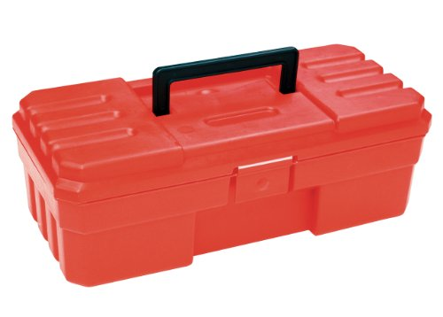 Akro-Mils 9912 12-Inch ProBox Plastic Tool Box, Red ()
