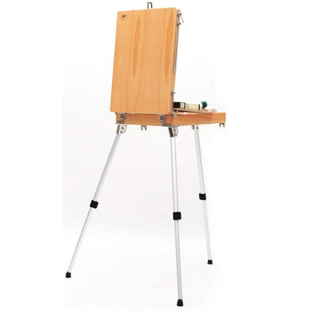 ventas en linea YYPAINT Caballete Caballete Caballete Easel Sketch Box Portátil Plegable Artista Durable Pintores Trípode  entrega de rayos