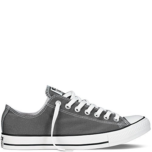 Converse Men's All Star Chuck Taylor Lo Top Oxfords Charcoal 11.5 D(M) US