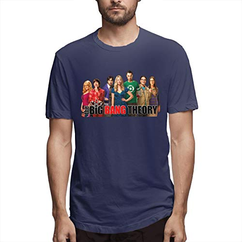 Fast T-shirt Track - LightCa Big Bang Theory Prequel On Fast Track for T Shirt for Men's Navy 36