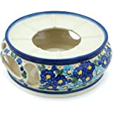 Polish Pottery Heater 7-inch Aura